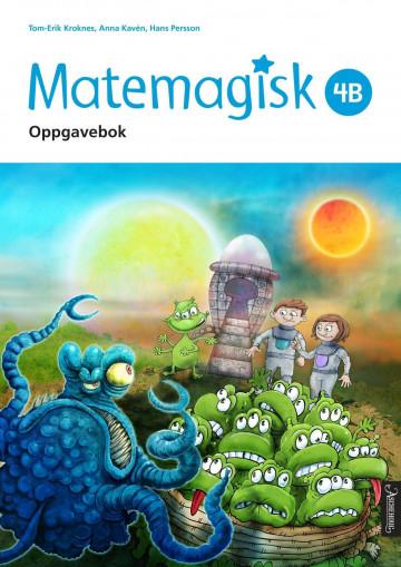 Bilde av Matemagisk 4b
