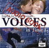 Omslag - Voices in Time 1 8. klasse Double text CD
