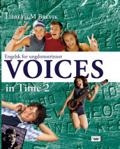 Voices in Time 2 9. klasse Textbook nyn av Lisbeth M. Brevik (Innbundet)
