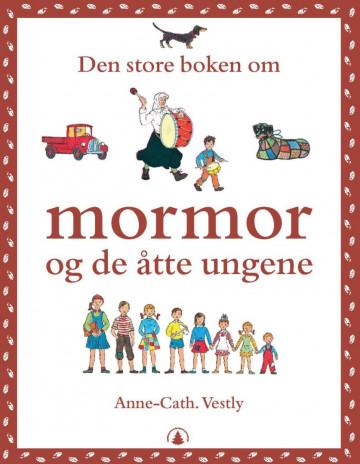 Bilde av Den Store Boken Om Mormor Og De åtte Ungene
