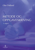 Omslag - Metode- og oppgaveskriving for studenter