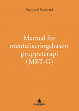 Omslag - Manual for mentaliseringsbasert gruppeterapi (MBT-G)