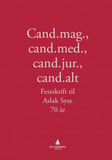 Omslag - Cand.mag., cand.med., cand.jur., cand.alt