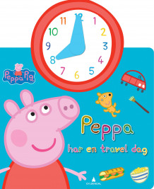 Peppa har en travel dag (Pappbok)
