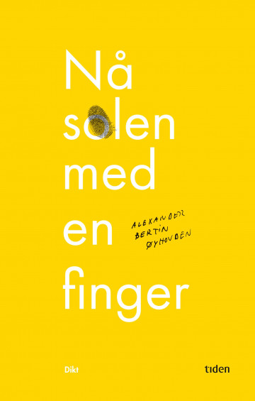 Bilde av Nå Solen Med En Finger