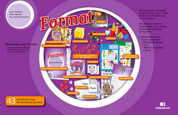 Bilde av Format. Aktivitetskasse I Matematikk (uten Lærerveiledning Og Aktivitetskort). Aktivitetskasse I Matematikk For Småskolen