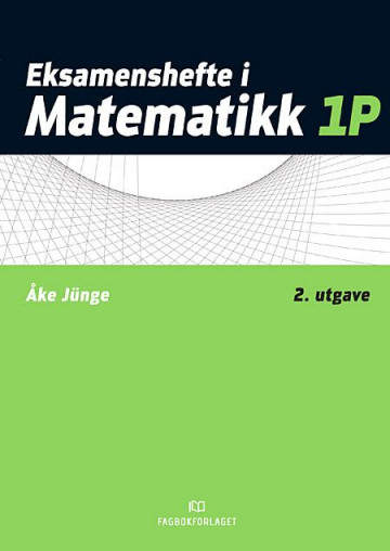 Bilde av Eksamenshefte I Matematikk 1p