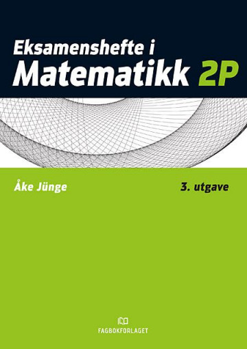 Bilde av Eksamenshefte I Matematikk 2p