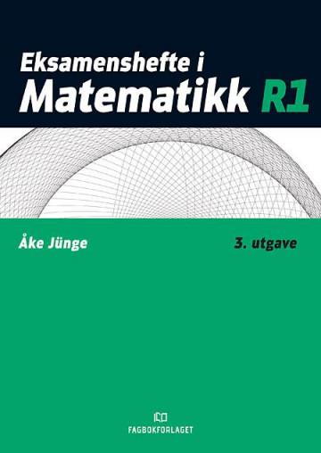 Bilde av Eksamenshefte I Matematikk R1