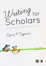 Omslag - Writing for scholars