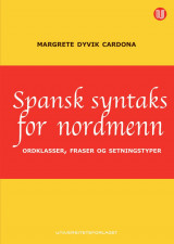 Omslag - Spansk syntaks for nordmenn