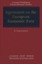 Omslag - Agreement on the European Economic Area