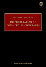 Omslag - Interpretation of commercial contracts