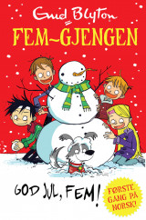 Omslag - God jul, Fem!