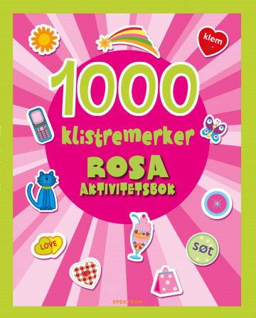 Bilde av 1000 Klistremerker. Rosa Aktivitetsbok