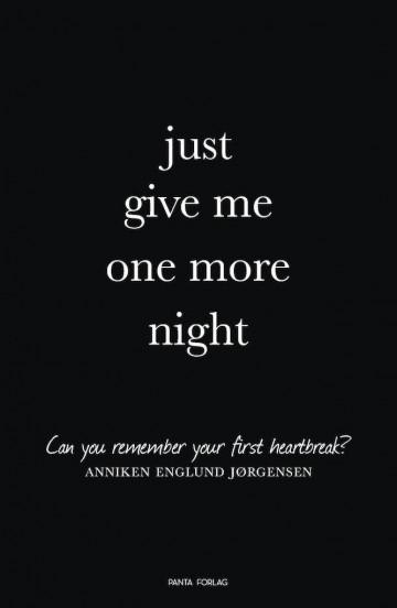 Bilde av Just Give Me One More Night