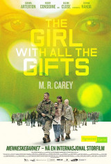 Omslag - The girl with all the gifts = Menneskebarnet