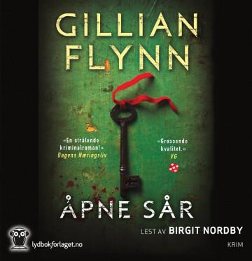 Åpne sår av Gillian Flynn (Lydbok-CD)