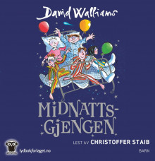 Midnattsgjengen av David Walliams (Lydbok-CD)