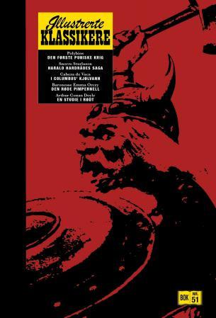 Bilde av Den Første Puniske Krig ; Harald Hardrådes Saga ; I Columbus' Kjølvann ; Den Røde Pimpernell ; En Studie I Rødt