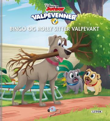 Bilde av Bingo Og Rolly Sitter Valpevakt!