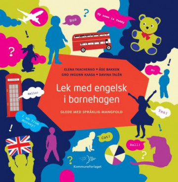Bilde av Lek Med Engelsk I Barnehagen