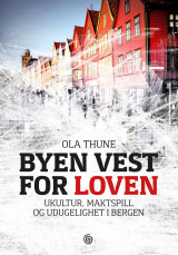 Omslag - Byen vest for loven