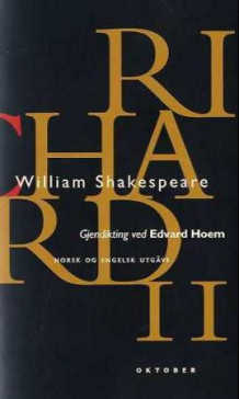 Richard II av William Shakespeare (Heftet)