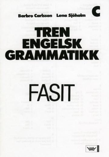 Bilde av Tren Engelsk Grammatikk, Fasit Hefte C