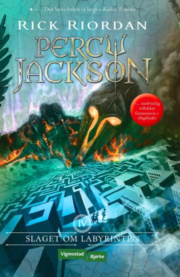 Slaget om labyrinten Rick Riordan {TYPE#Heftet}