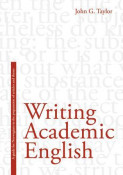 Omslag - Writing academic English