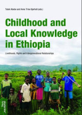 Omslag - Childhood and local knowledge in Ethiopia