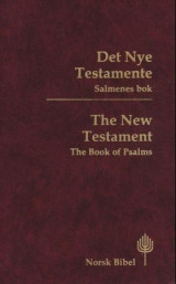 Omslag - Det nye testamentet = The New Testament : the book of Psalms