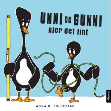 Bilde av Unni Og Gunni Gjer Det Fint