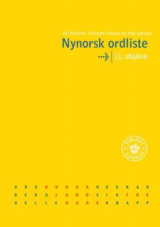 Bilde av Nynorsk Ordliste