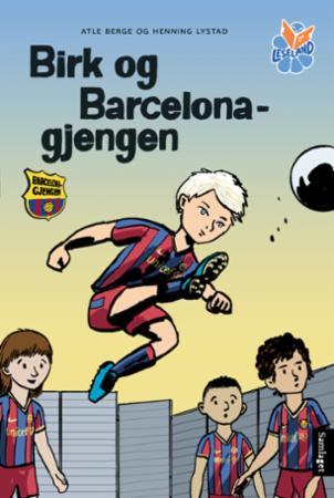 Bilde av Birk Og Barcelona-gjengen