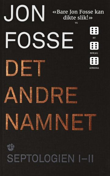 Bilde av bokomslaget til 'Det andre namnet'