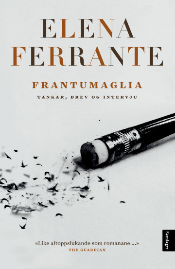 Bilde av bokomslaget til 'Frantumaglia'