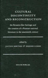 Omslag - Cultural discontinuity and reconstruction