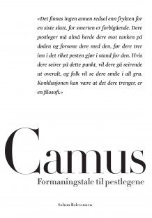 Formaningstale til pestlegene av Albert Camus (Ebok)