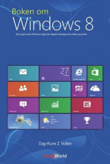 Omslag - Boken om Windows 8