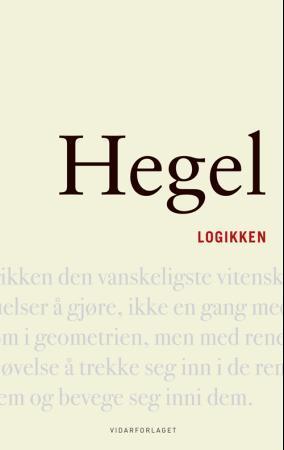 Logikken G.W.F. Hegel {TYPE#Innbundet}