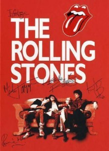 Ifølge the Rolling Stones av Mick Jagger, Keith Richards, Charlie Watts og Ronnie Wood (Innbundet)