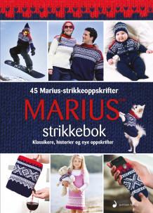 Marius strikkebok av Arve Juritzen (Innbundet)