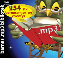 Barnas mp3 bibliotek (CD-ROM)