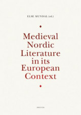 Omslag - Medieval Nordic literature in its European context