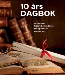 10 års dagbok