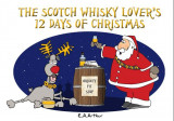 Omslag - The Scotch whisky lover's 12 days of Christmas