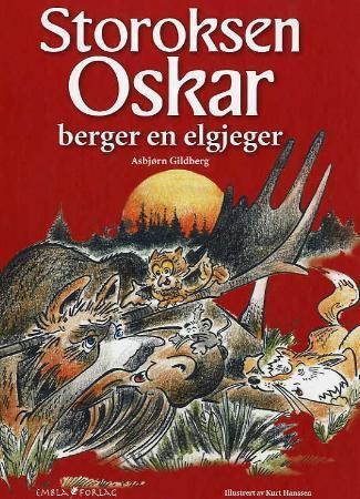Bilde av Storoksen Oskar Berger En Elgjeger