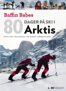 80 dager på ski i Arktis av Emma Simonsson, Kristin Folsland Olsen, Ingebjørg Tollefsen og Vera Simonsson (Innbundet)